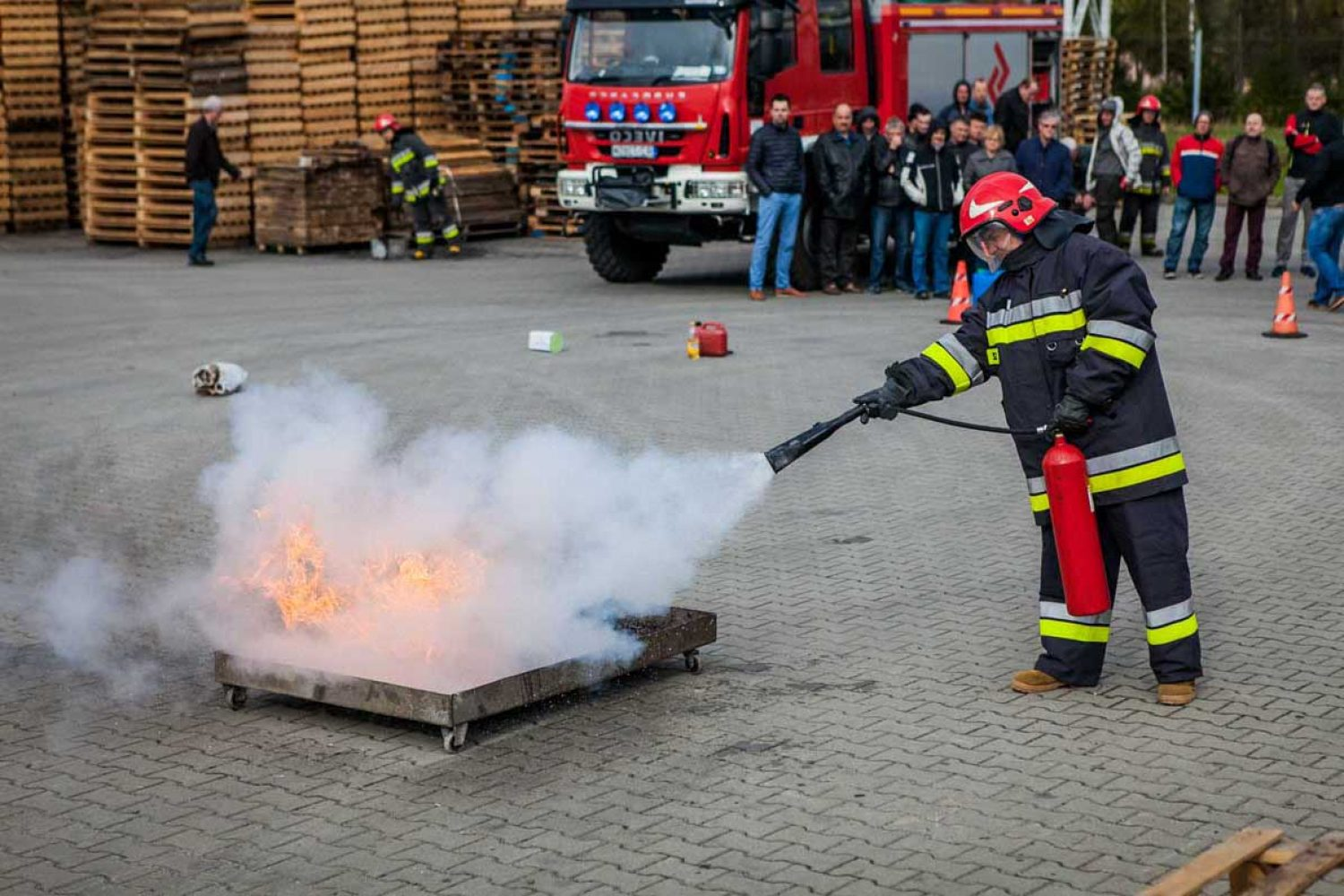 Safety - fire training